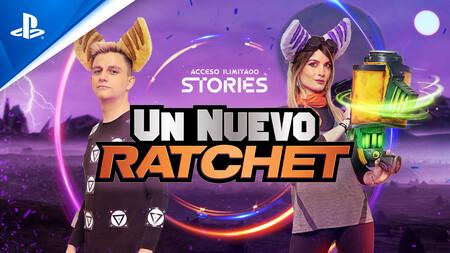 'Ratchet & Clank: Una dimensión aparte': Ampeter, Santi Millán, Cristinini y muchos más se dejan contagiar por la 'ratchetmanía' en 'Acceso Ilimitado Stories: Un nuevo Ratchet'