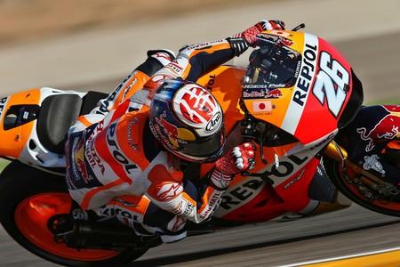 Dani Pedrosa vuelve fracturarse la clavícula derecha, se perderá al menos el GP de Japón