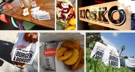 Las burgers más viajeras y molonas se encuentran en Kiosko