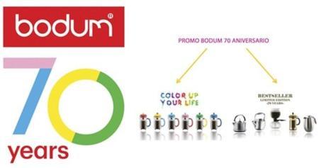 Bodum celebra su 70 aniversario con alegres colores