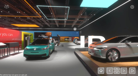 Volkswagen Salón de Ginebra Virtual coche eléctrico