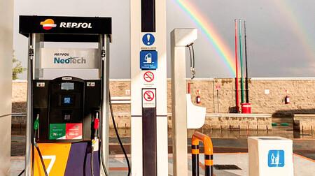 Gasolinera Repsol Repostaje
