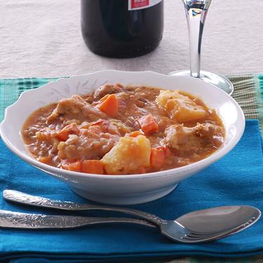 Costillas guisadas al curry: receta reconfortante