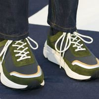 Éstos son los nueve sneakers más cool vistos en la London Fashion week Men's