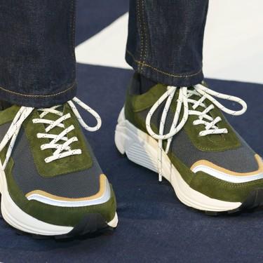Éstos son los nueve sneakers más cool vistos en la London Fashion week Men's