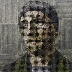 Foto 5 de 7 de la galería retratos-hechos-con-clavos en Decoesfera