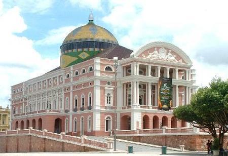 Una Ópera en medio de la selva en Brasil