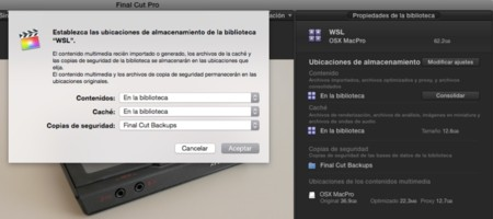 Gestion Media Fcpx