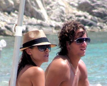 Para quedarse de piedra, María José Suárez y Feliciano López una vez más ¿juntos?