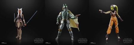 Figuras Star Wars Black Series en oferta en México, de Hasbro