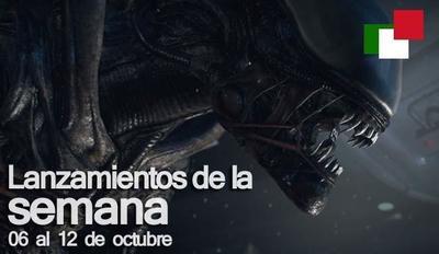 Lanzamientos de la semana en México del 06 al 12 de octubre