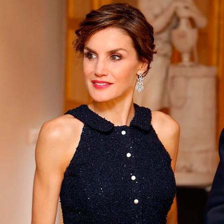 Doña Letizia triunfa en Estados Unidos con un look de Nina Ricci