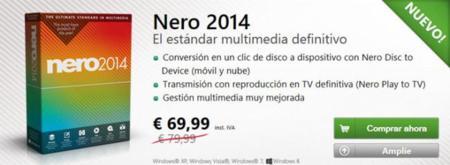 Precio de Nero 2014 estándar
