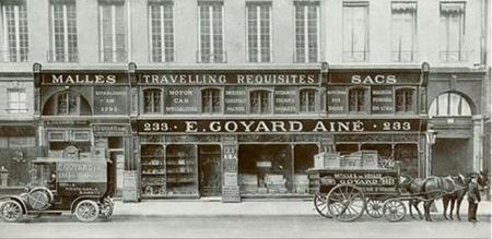 Goyard, la marroquinería de los sibaritas