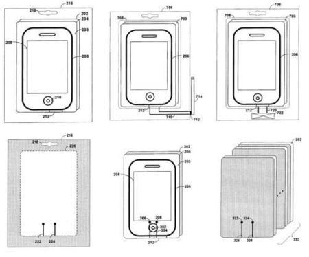 Más patentes de Apple: Cajas capaces de encender los productos