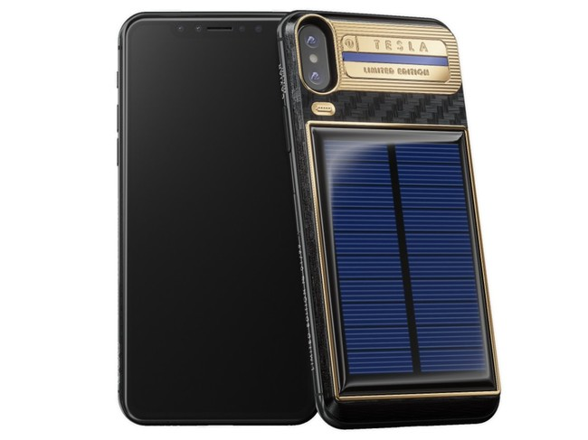 Caviar Iphone X Tesla 1