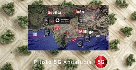 Vodafone y Huawei ponen en marcha un proyecto piloto 5G en Andalucía con más de 25 millones de euros de presupuesto