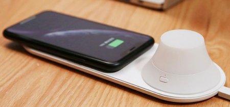 Xiaomi lanza un cargador inalámbrico con lámpara extraíble por 21 euros