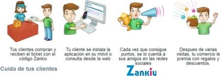 Zankiu permite a los comercios crear sus propios sistemas de puntos basados en una aplicación para smartphones