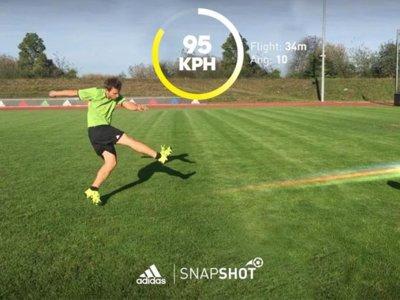 Adidas Snapshot: La App que calcula la potencia de tu disparo con el balón