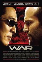 Póster de 'War' con Jet Li y Jason Statham
