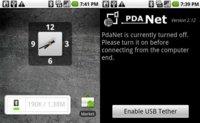 PDAnet se actualiza introduciendo la opción de ocultar el tethering
