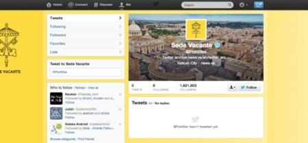 La cuenta del Papa @pontifex borra todo su contenido a la espera del nuevo nombramiento