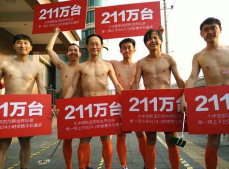 Una Xiaomi de record: 2,12 millones de teléfonos vendidos en 12 horas