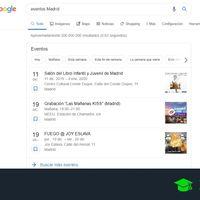 Cómo buscar eventos cercanos a donde vives utilizando el buscador de Google