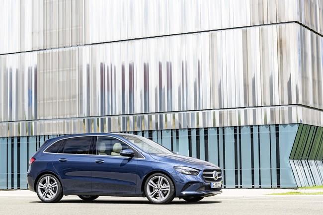 Mercedes-Benz amplía su abecedario premium con el nuevo Clase B