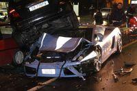 La policía italiana tiene problemas con su Lamborghini Gallardo LP560-4
