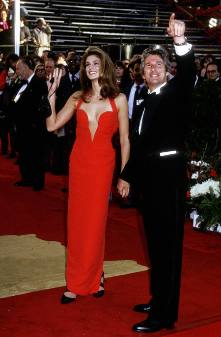 Cindy Crawford Oscar 1991
