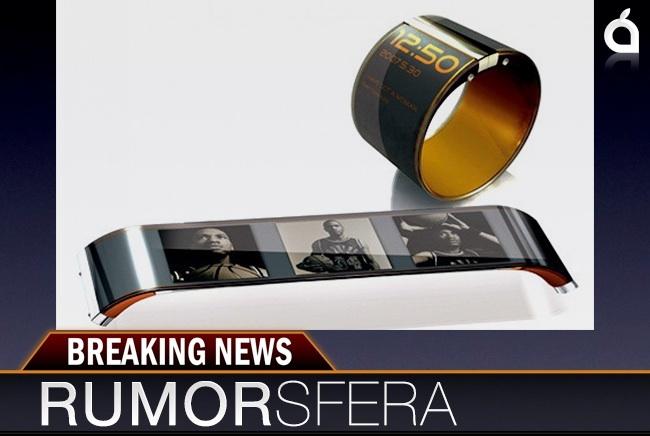 Rumorsfera, relojes flexibles