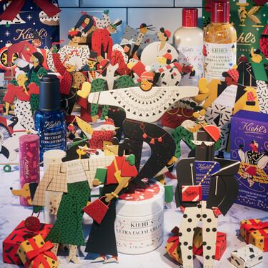 La Navidad llega a Kiehl's cargada de sus mejores cosméticos con el packaging más festivo