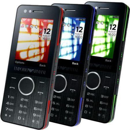 Samsung Armani Night Effect M7500, móvil para jóvenes