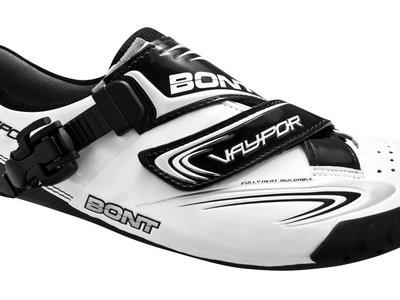 Zapatillas termomoldeables para ciclismo de carretera Bont Vaypor rebajadas un 50% en Wiggle: ahora sólo 134,98 euros