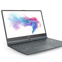 En PcComponentes y en Amazon tienes esta semana un potente portátil de trabajo como el MSI Modern 14 A10RB-663XES por 99 euros menos con envío gratis