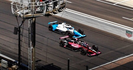 Castroneves Palou Indy500 2021