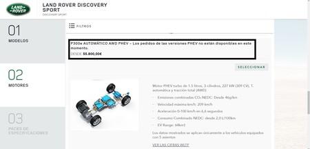 Land Rover Discovery Phev No Se Vende