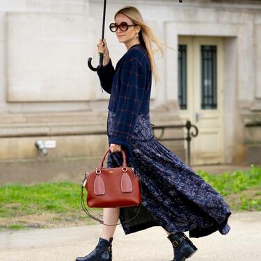 Cómo aprovechar al máximo los vestidos midi y largos de distintas maneras según las tendencias del otoño 2020