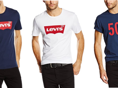 6 Camisetas Levi's por precios entre 14 y 38 euros en Amazon ¡Todas rebajadas de precio!