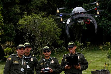 La Policía de Bogotá utilizará drones para fortalecer la seguridad
