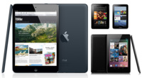 Comparativa del iPad mini con el Nexus 7, Kindle Fire y Galaxy Tab 2 7.0