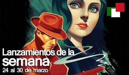 Lanzamientos de la semana en México del 24 al 30 de marzo