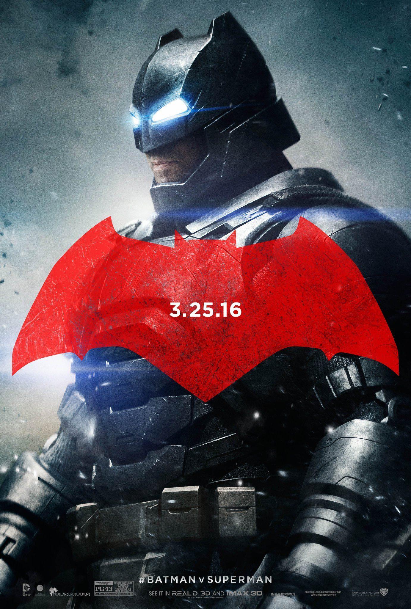 Foto de 'Batman v Superman', nuevos carteles de los protagonistas (2/3)