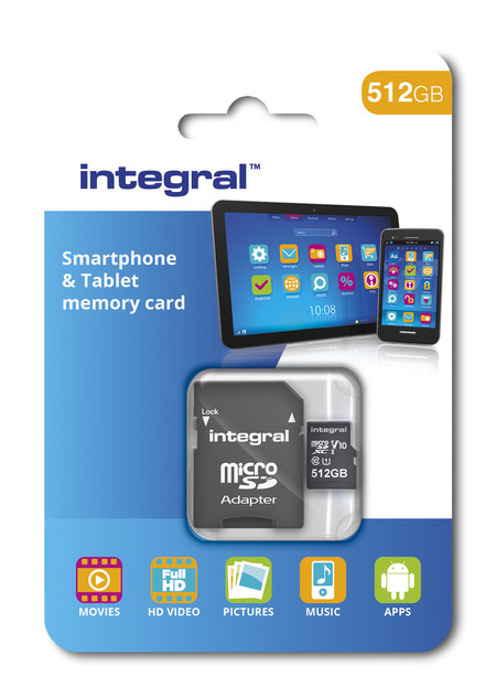 Smartphone Tablet Microsdxc 512gb Packaging Web
