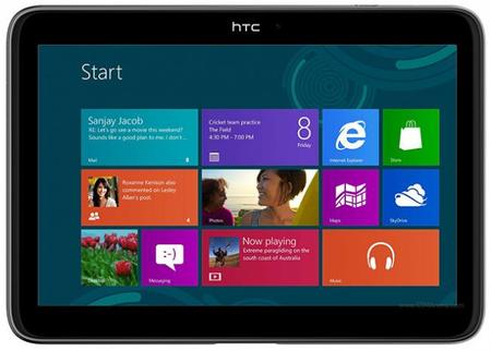 HTC estaría preparando dos tablets con Windows RT para el tercer trimestre del año