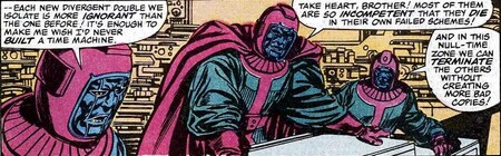 Council Of Kangs From Avengers Vol 1 267