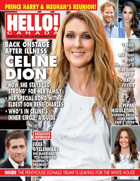 LA vuelta de Celine Dion