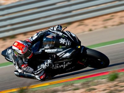 Concluyen los test de Superbikes en Motorland Aragón mientras Nico Terol entrenaba también en Hungría